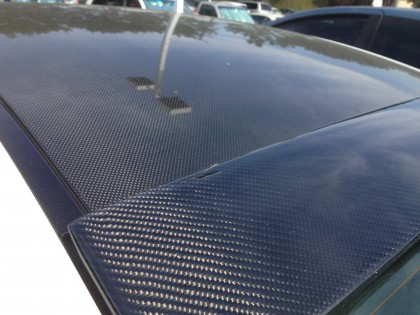 2003-2010 BMW 6-Series artcarbon Carbon Fiber Roof Spoiler (View 2)