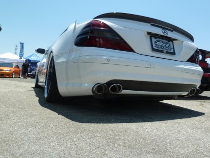 Mercedes-Benz SL-Class Carbon Fiber Trunk Spoiler